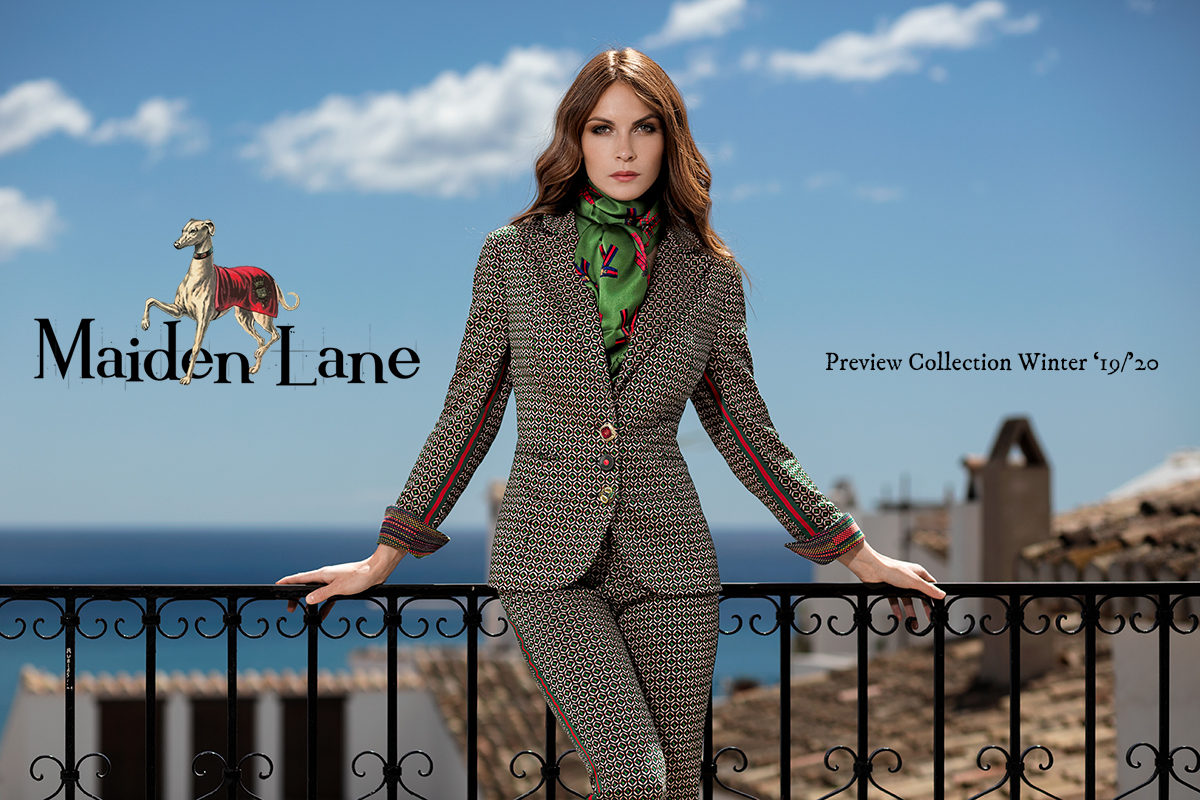 Maiden Lane Fashion Blazer Francis Preview Collection Winter 2019-2020